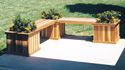 Planter Bench Woodworking Plans