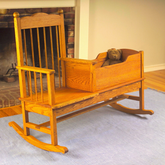 Rocking Baby Cradle Woodworking Plans