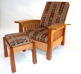 California Bow Arm Chair Plans