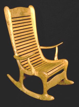 large rocking chair plans