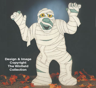 Mummy Woodcraft Pattern