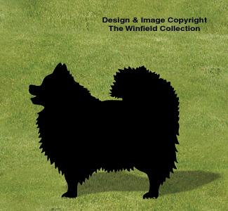 Pomeranian Shadow Woodcraft Pattern
