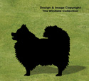 Pomeranian Shadow Woodcraft Pattern