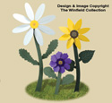 Giant Whirligig Flowers Wood Plan