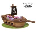 Landscape Timber Pirate Ship Planter Plans