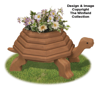 2X Tortoise Planter Project Plans