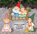 Large Garden Gnomes #4 Pattern Set