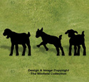 Goat Kids Shadow Woodcraft Pattern