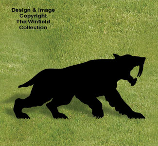 All yard shadows sabre tooth shadow woodcraft pattern for Yard shadow patterns