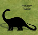 Brontosaurus Shadow Wood Pattern