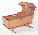 Heritage Cradle Woodworking Plan