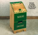 Tater & Onion Box Woodworking Plan