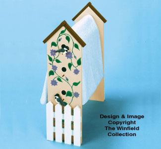 Birdhouse Quilt Rack Wood Pattern