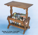 Magazine Table Woodworking Plan