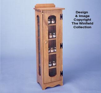 Jelly Cupboard Wood Project Plan