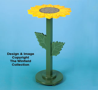 Sunflower Table Wood Project Plan