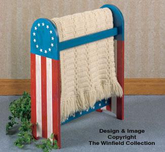 Americana Quilt Rack Woodcraft Pattern