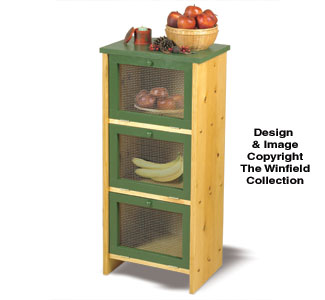 Fruit & Veggie Bin Wood Project Plan
