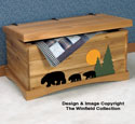 Black Bear Cedar Chest Wood Plans