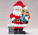 Santa & Dolly Woodcrafting Pattern