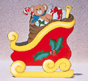 Santa's Sleigh Woodcrafting Pattern