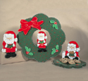 Santa Fever Woodcrafting Pattern