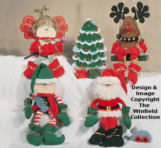 Sugar Plum Christmas Woodcraft Pattern