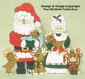 Santa's Reindeer Preschool Pattern