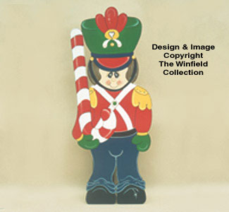 Toy Soldier Woodcrafting Pattern