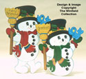 Mr. Chills & Frosty Woodcraft Pattern