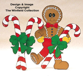 Ginger Sweet Holidays Wood Pattern