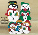 Cool Carolers Woodcraft Pattern