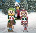 Small Fry Carolers Woodcrafting Pattern