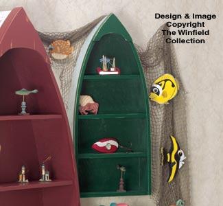 Small Rowboat Shelf Pattern