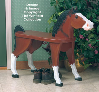 Horse Bench Wood Plans
