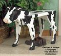 Cow Bench Woodcraft Pattern