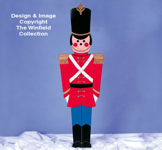 Giant Toy Soldier Woodcraft Pattern