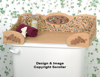 Commode Shelf Project Pattern