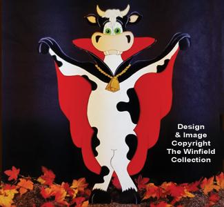 Cow'nt Dracula Woodcraft Pattern