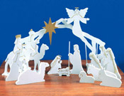 Indoor Nativities and Angels