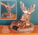 Reindeer Nutcracker/Bowl