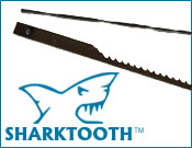 SHARKTOOTH & OLSON<BR>Scroll Saw Blades