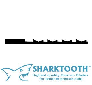 SHARKTOOTH <br>Scroll Saw Blades <br> Crown Tooth