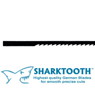 SHARKTOOTH <br>Scroll Saw Blades <br> Metal Cutting