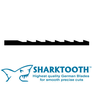 SHARKTOOTH <br>Scroll Saw Blades <br> Skip Tooth