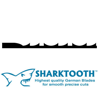 SHARKTOOTH<BR> Scroll Saw Blades <br> Ultra Reverse