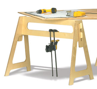 Take Apart Sawhorses  Project Plan