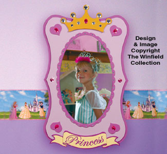 Princess Mirror Woodworking Pattern