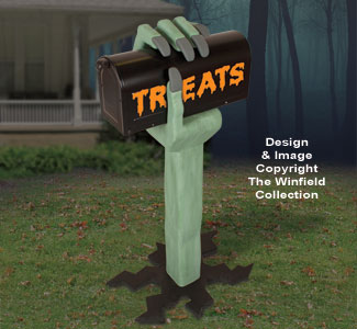 3D Monster Hand Mailbox Plan