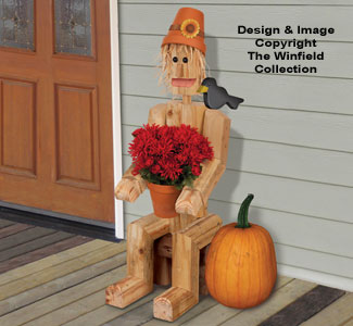 Landscape Timber Scarecrow Plan